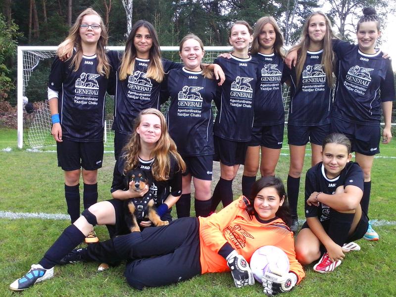 RSV Hörste setzt wieder auf Mädelpower am Ball / Bericht heute auf Jugendfussball in Lippe