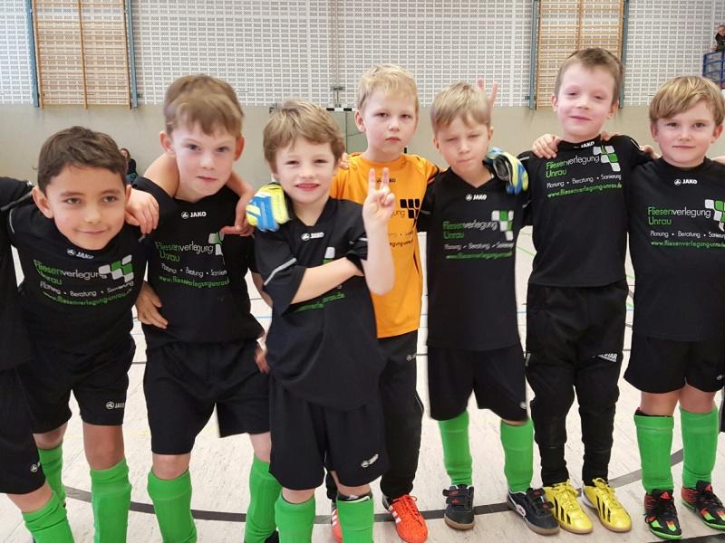 JSG Mini Kicker starten erfolgreich ins neue Jahr und gewinnen beide Kreisturniergruppen