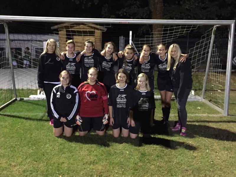 Sieg der Mädchenmannschaft gegen Müssen