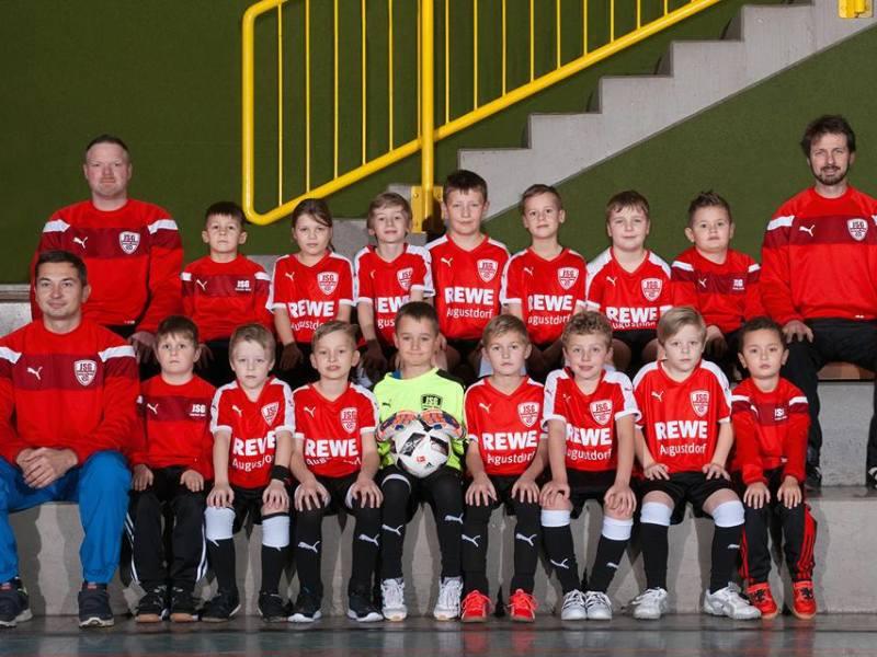 Unsere F-Jugend der JSG Augustdorf-Hörste!