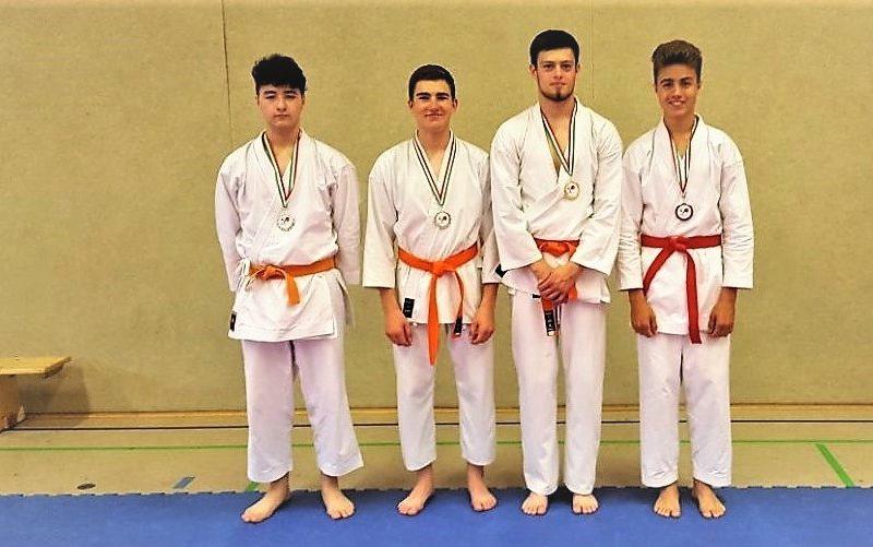 Hörster Karateka erreichen Bezirksmeistertitel