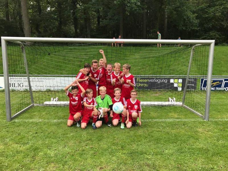 D1-Junioren holen sich den Turniersieg beim Sommersportfest