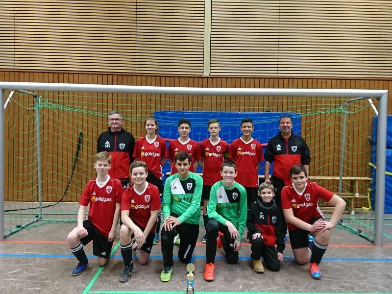 C – Jugend Sonntag, 17.12.2017 3. Platz beim Hallenturnier des FC Stukenbrock