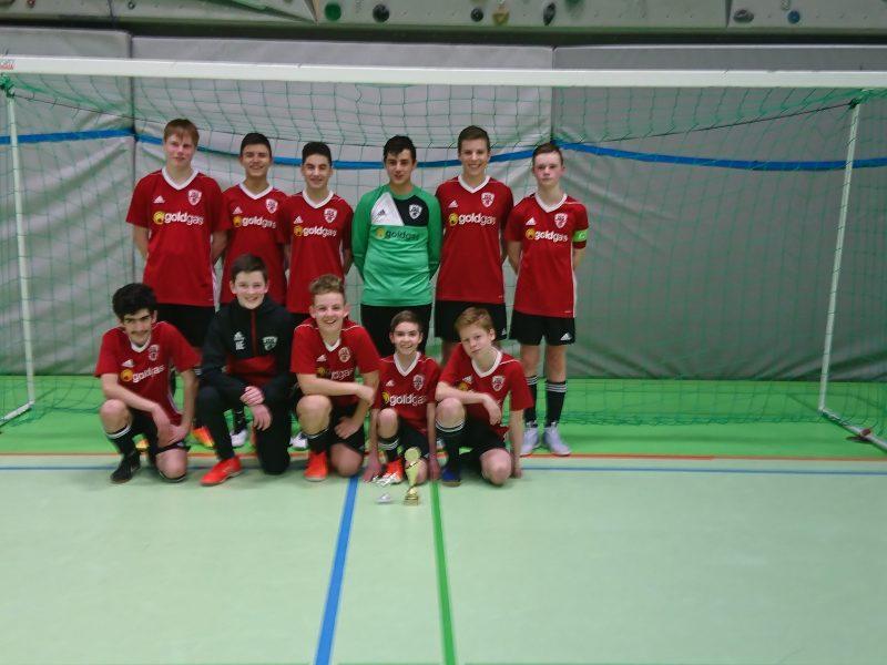 Unsere C-Junioren gewinnen den 3. JuFu-Cup 2018