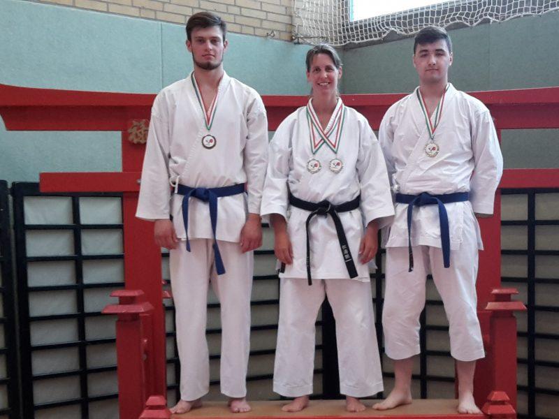 Hörster Karateka wird Bezirksmeister