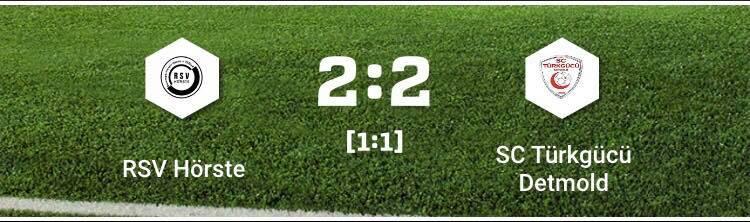 Unentschieden im ersten Heimspiel!